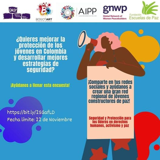 ENCUESTA SOBRE PROTECCIÓN A LÍDERES JÓVENES EN COLOMBIA